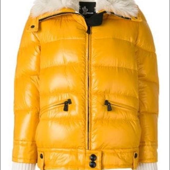 c9817004185e Moncler Jackets & Coats   Grenoble Lamb Fur Collar Puffer Jacket ...